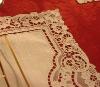 handmade lace table cloth