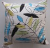 handmade leaves cushion