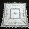 handmande crocheted table cloth