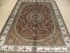 handmde silk carpet