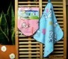 hanging cotton face towel