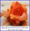 head flower feather flower