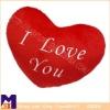 heart-shaped lover red soft cushion,home decor cushion