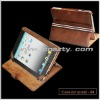 high quality fashion leather case for Ipad2