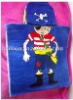hooded reactive printing cartoon batch towel for baby