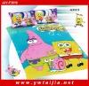 hot sale 100%cotton children cartoon bedding set--3PCS