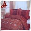 hot sale 100% polyester taffeta bedding set /home textile