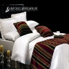 hotel bed runner-bed scarf-bed cover-bed spread