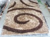 hotel polyester flocked carpet