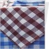 hotel polyester jaquard table cloth(cotton table cover)