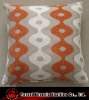 hourglass style chenille cushion cover