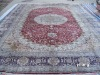 india silk carpets