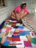 indian handmade patchwork kantha quilts
