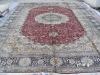 indian silk hand made carpet