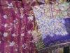indian vintage hand embroidered designer reversible kantha shawls/scarves/stoles