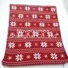 jacquard christmas blanket