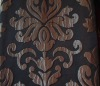 jacquard curtain fabric made of 100%polyester