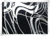 jersey fabric-knitted foil printed fabric