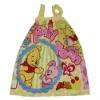 kids terry lovely small sling Bath skirt with rubber band