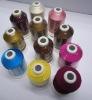 king spool machine embroidery thread viscose 120D/2
