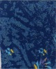 knitted Jacquard fabric bonded 3mmsponge