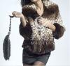 knitted mink fur coat