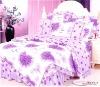 lace cotton printed comforter set