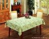 lace edge pvc table cloth