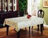 lace edge table cloth