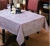 lace pvc table cover (NEW design)