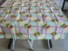 leaves paper table cover