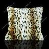 leopard printed cushion