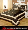 light weight polyester taffeta bedspread set