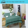 linen blue edge occident table linen