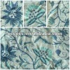 linen embroidered curtain fabric