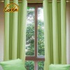 lively green polyester office window curtain
