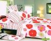 living room sunflower pattern cotton bedsheet set
