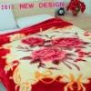 long pile 100% polyester blanket