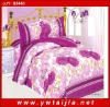 love print bedding set/ big flowers print bedsheet-Yiwu taijia home textile