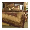 luxury chenille jacqusrd patchwork comforter