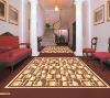 luxury hotel corridor carpet