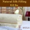 luxury silk duvet