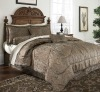 luxury yarn-dye 7piece jacquard comforter set