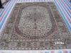 manmade silk rugs
