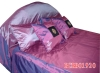 many colours silk bedspread five pcs sets