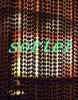 *metal hollow beads curtain decorative chain curtain