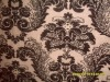 metallic Chenille curtain fabric