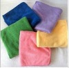 microfiber cleaning cloth for car wash--100% polyester