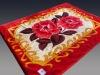 mink blanket/blanket/ NO.FM6015 red blanket