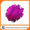 mixed colors curly nagorie feather pad